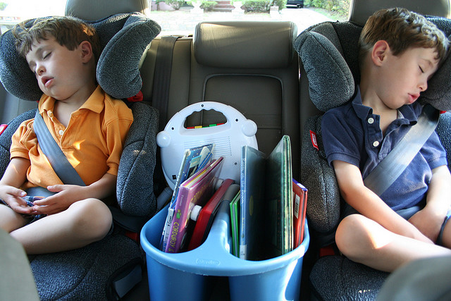 Long car rides with kids: 4 mums share their top tips