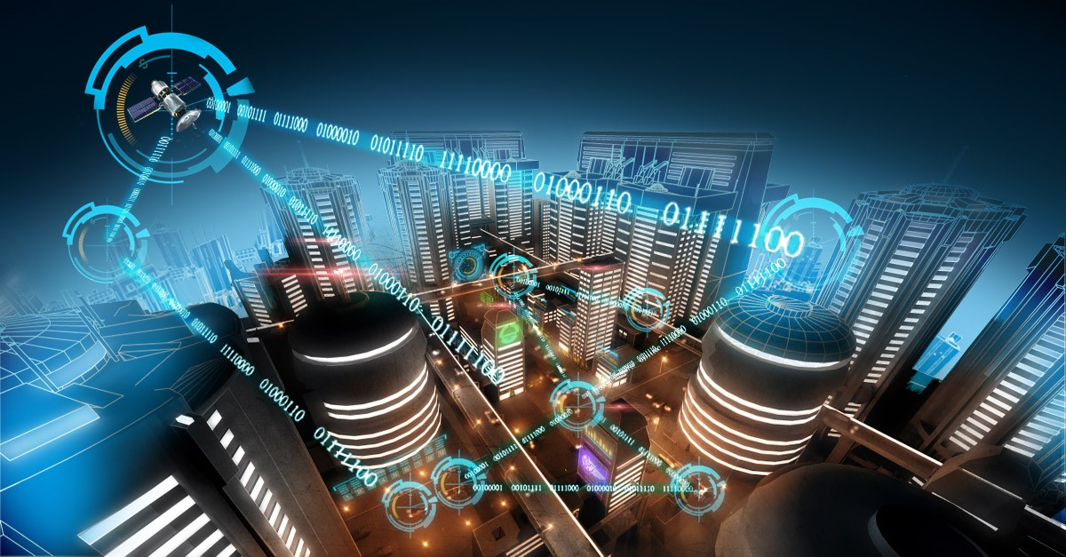 Smart connected city of the future