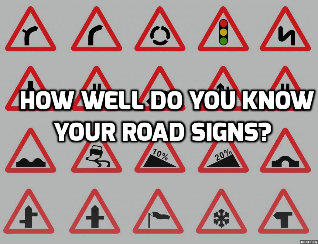 Road Signs Quiz Test Your Knowledge Of Uk Road Signs