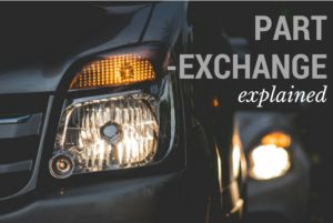 Part-Exchanging a Car Explained