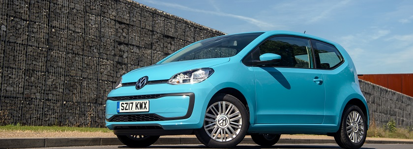 Volkswagen up! in blue