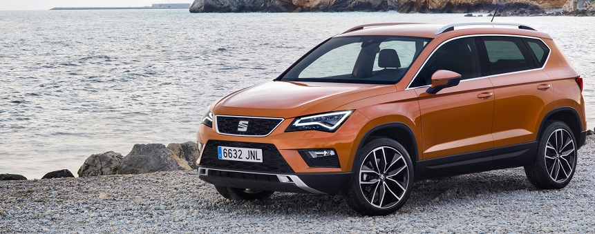 New SEAT Ateca in bronze