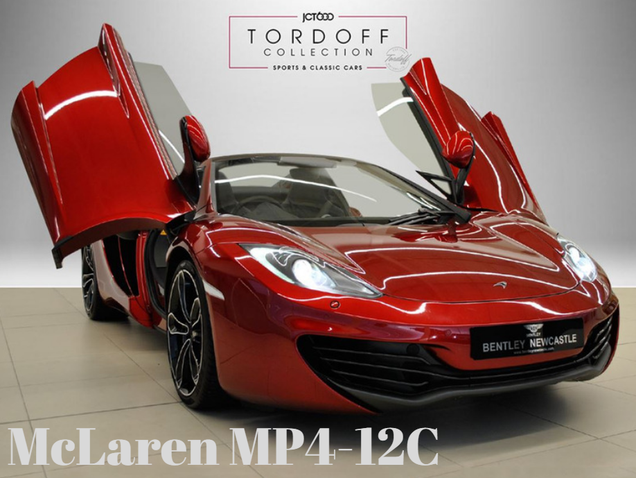 The Tordoff Collection - McLaren MP4-12C