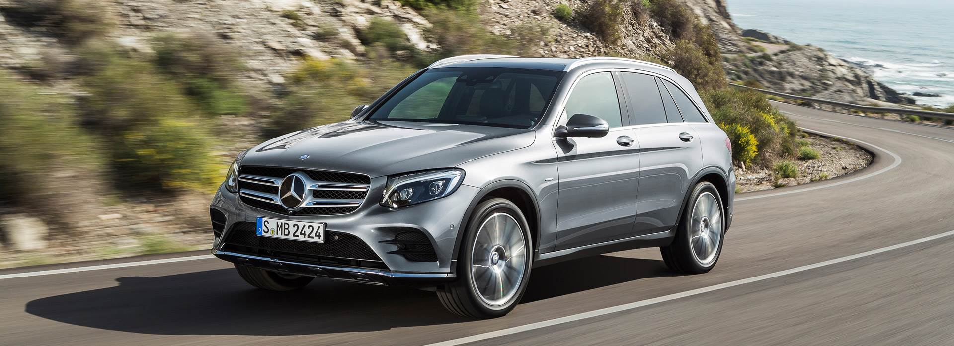 New Mercedes-Benz GLC in silver