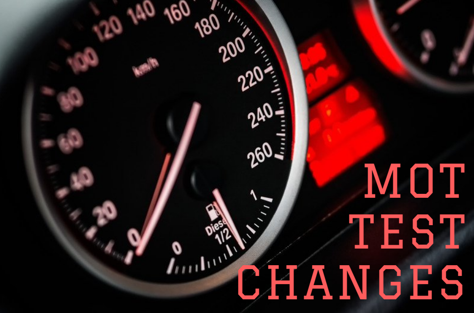 MOT Test Changes - May 2018