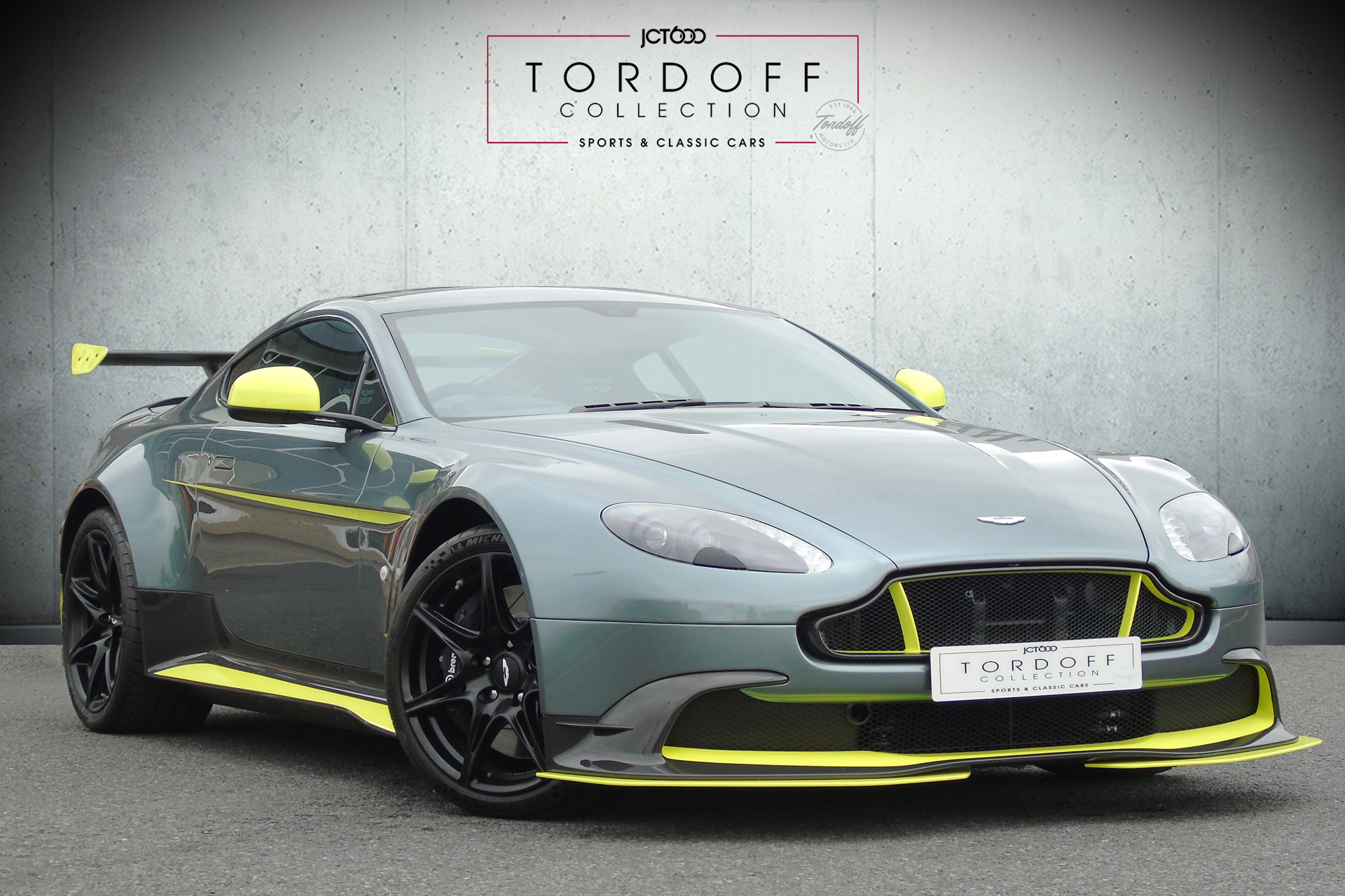 The Tordoff Collection – Aston Martin GT8 includes Track Day with Sam Tordoff