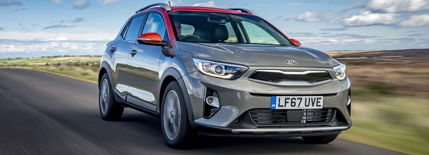 Kia Stonic in grey