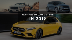 16 New Cars to Look Out for in 2019