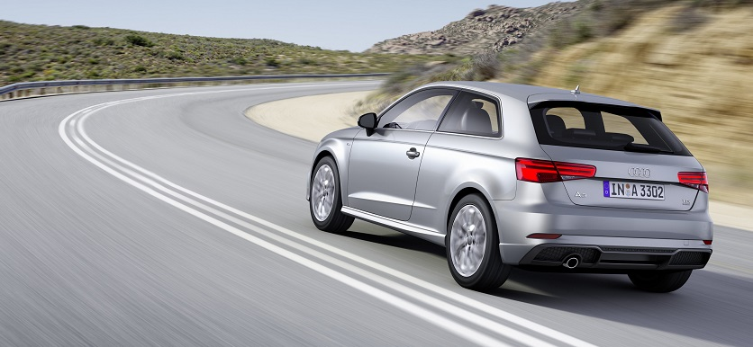 New Audi A3 in silver