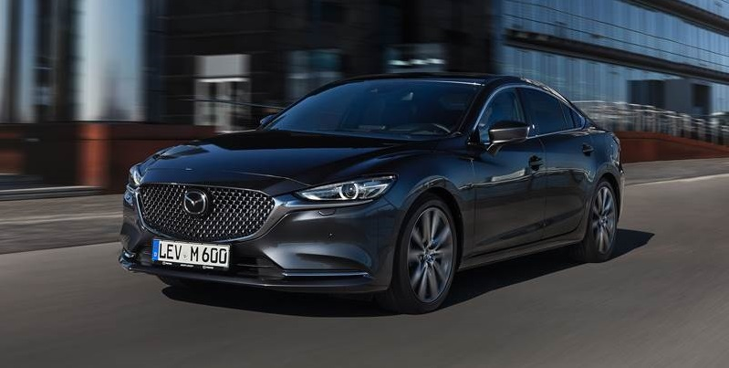 New Mazda 6 in dark grey