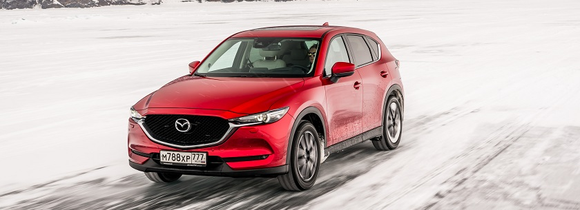 New Mazda CX5 in red