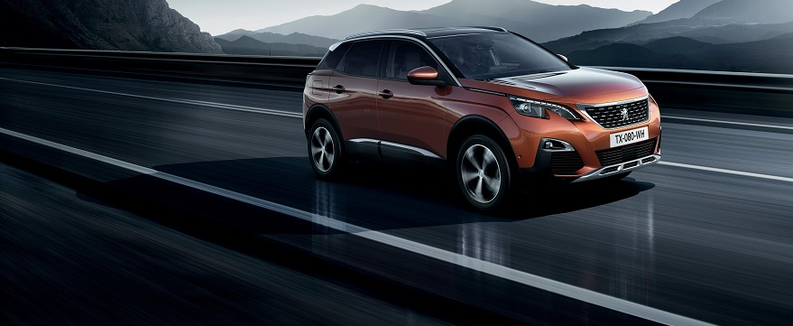 New Peugeot 3008 in bronze