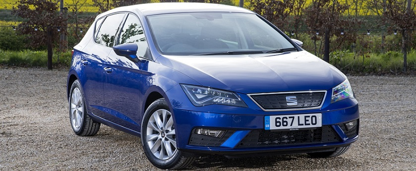 New SEAT Leon in blue