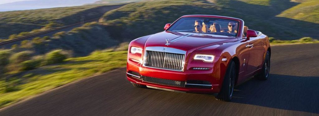 Red Rolls-Royce Dawn 2019