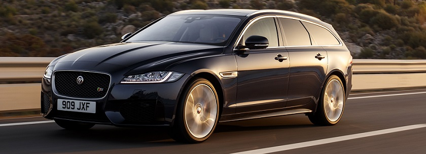 Jaguar XF sportbrake - in black
