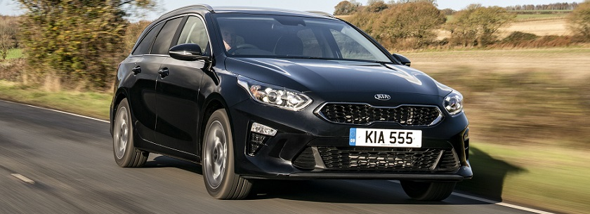 Kia Ceed SW - in black