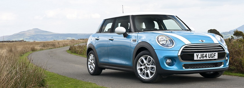 MINI Hatchback in blue