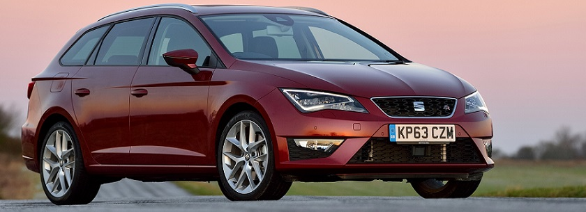 SEAT Leon ST - in bronze