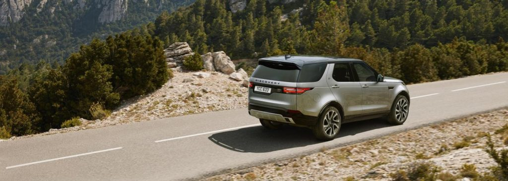 grey land rover discovery