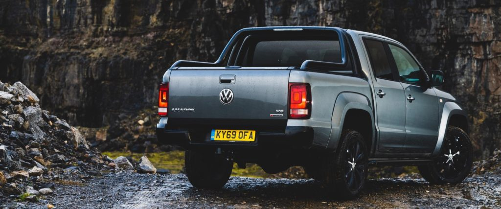 grey volkswagen amarok pick-up truck