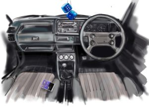 Evolution of the Volkswagen Golf interior