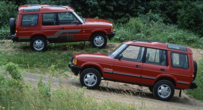 History of the Land Rover Discovery